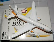 Schabak 1:600 Scale Diecast 907-133 Royal Brunei Airlines Boeing 767 New in Box