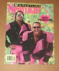 WWE Wrestling Spotlight Vol 11 Hart Foundation WWF Wrestling Magazine Bret Anvil