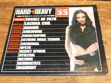 Various ‎– HARD & HEAVY 33 - CRADLE OF FILTH !!!  !!!!!!!!!!!! ! RARE CD FRANCE