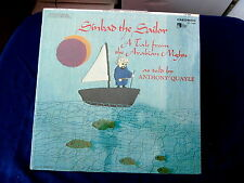 ANTHONY QUAYLE~ SINBAD THE SAILOR~ MINT~ IN SHRINK~ SEALED~ ~ SOUND TRACK LP