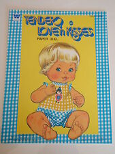 VINTAGE TENDER LOVE'N KISSIS PAPER DOLL BOOK  MINT  UNUSED
