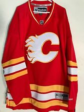 Reebok Premier NHL Jersey Calgary Flames Team Red Alternate 3rd sz 3X