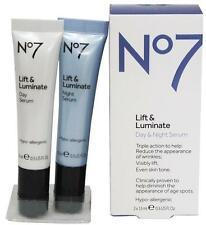 No7 Lift And Luminate - Day And Night Serum 2x15ml