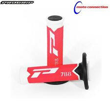 PRO GRIP 788 RED / BLACK / WHITE TRIPLE DENSITY GRIPS SUZUKI RM125 RM250 2003