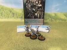 Guild Ball game DPS Pro painted Fisherman's Guild Starter Set 3 models GBFM01