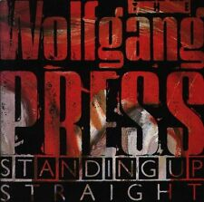 Wolfgang Press Standing Up Straight w Booklet Lp 4ad