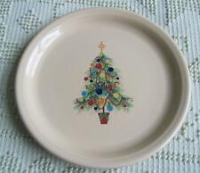 Homer Laughlin Fiesta Ivory Christmas Tree Plate