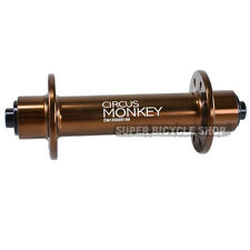 Circus Monkey HRW Road Front Hub,28 Hole, Brown