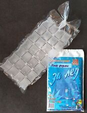 Ice Cube Bags, 308 Cubes, 10 Plastic Bags/28 Cubes each + 1 For Free