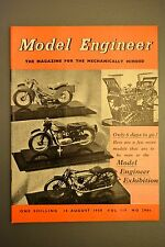 R&L Mag: Model Engineer 14 August 1958 Collet Chucks/Ship Modelling