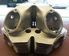 3792 - CYLINDER HEAD 650SS RACER - CONVERTED TO FLANGE FITTING EXHAUST PIPES