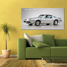 1979 PONTIAC FIREBIRD TRANS AM LARGE AUTOMOTIVE HIGH DEFINITION POSTER 24x48in