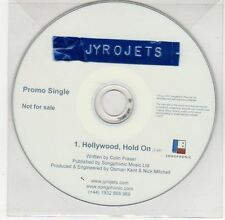 (EG399) Jyrojets, Hollywood Hold On - 2007 DJ CD