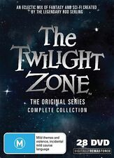 THE TWILIGHT ZONE - ORIGINAL SERIES COMPLETE COLLECTION (28DVD BOX SET) SEALED!!