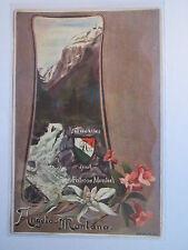 Engelberg - Verbindung Angelo-Montana - Angelomontana - 1903 Studentika Schweiz