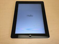 "Apple iPad 2 2nd Generation 64GB 9.7"" Wi-Fi + 3G Verizon Tablet MC764LL/A - GOOD"