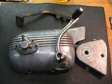 Harley Sprint Aermacchi Left Engine Cover Kicker Arm Sprocket Cover Tach Drive