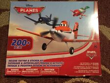 WALT DISNEY Planes Deluxe Tattoo & Sticker Kit 200+ Pieces
