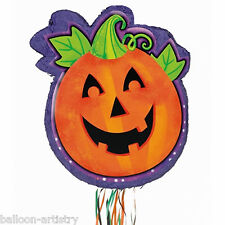 Halloween Haunted Orange Pumpkin Children's Party Pull Pinata Decoration Game