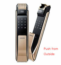 Samsung Push Pull Type Digtial Door Lock EZON SHS-DP920 TagKeys -