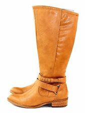 Bare Traps Womens Tatiana Knee High Riding Boot Light Cognac Brown Size 7.5 M