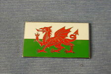 NEW  MG TRIUMPH ENAMEL WELSH DRAGON FLAG DECAL BADGE