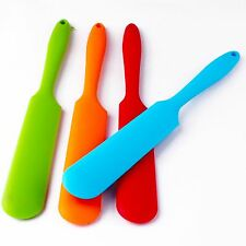 Silicone Cooking Baking Scraper Cake Spatula Butter Mixer Kitchen Utensil Tool M
