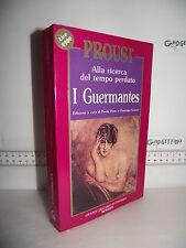 LIBRO Alla ricerca del tempo perduto PROUST I Guermantes 1^ed.1990