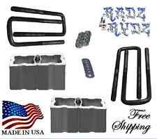 "1988-2016 Chevy Silverado GMC Sierra C K 1500 4"" Lift Blocks Leveling Lift Kit U"