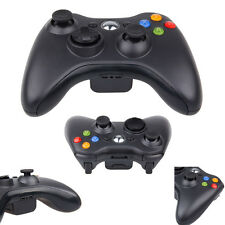 Black Wireless Game Remote Controller for Microsoft Xbox 360 Console Live Play