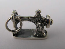 SEWING MACHINE  STERLING SILVER CHARM - NEW (#A) (LAST ONES!!)