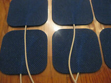 12 NEW Replacement Electrode Pads for Tens 7000 Units  2 x 2inch Blue Cloth
