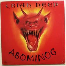 URIAH HEEP - ABOMINOG & DEEP PURPLE - 24 CARAT PURPLE  2 x UK Hard Rock classics