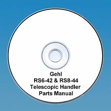 GEHL RS6-42, RS8-42 & RS8-44 TELESCOPIC HANDLER  PARTS MANUAL