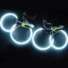 4Pcs 131mm CCFL Halo Rings Led Car Headlight white For BMW E36 3 Series 5 Series