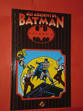 GLI ARCHIVI DI BATMAN- N° 4-TIRATURA LIMITATA  A COLORI -DI BOB KANE -PLAY PRESS