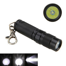 Super 1000LM CREE R5 LED Mini Flashlight Torch Keychain Hunting Handy Light AA