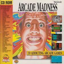 ARCADE MADNESS - (CD-ROM) 39 ARCADE MAC GAMES, BRAND NEW FACTORY SEALED