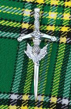 Scottish Highland Kids Thistle Crest Sword Kilt Pin/child Kilt Pin/Kilt Pin