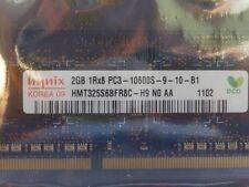 HYNIX 2GB SO-DIMM 1Rx8 PC3-10600S DDR3 RAM Laptop Memory HMT325S6BFR8