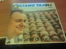 LP LUCIANO TAJOLI VOL. 1 SIGILLATO 30 ANNI DI SUCCESSI LSG