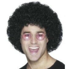 Men's Marouane Fellaini Styled Afro Wig 1970s Themed Disco Fever Man Utd Player