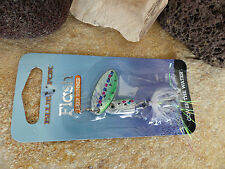 ORIGINAL BLUE FOX FLASH DEEP RUNNER SPINNER 1 RAINBOW TROUT 3,5g COVER THE WATER