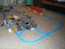 Lot 100+psTAKARA TOMY Plarail Thomas&Friends HUGE SET Rails stations trains WOW!