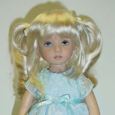 """Monique Doll Wig """"Darling"""" Size 5/6 - HONEY BLONDE Synthetic Mohair NEW!"""