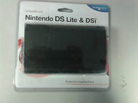 Nintendo DS Lite DSi and 3DS * Blue Ocean PROTECTIVE LEATHER CASE  * NEW
