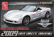 1/25 AMT 814 - 2009 Corvette Indy Parade Car Plastic Model Kit