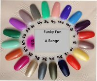 "BLUESKY UV/LED GEL, NAIL POLISH,  Summer ""A"" Colours, Free CND Remover wraps."