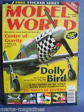 RCMW RC MODEL WORLD NOVEMBER 2004 GOLDIE PLANS MAGISTER FOKKER DVIII DOLLY BIRD
