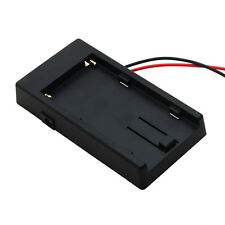 Battery Adapter Mount Plate for NP-F970 F750 F550 Sony DSLR Rig Power WYC02